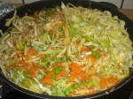 Kom grøntsagerne i en sauterpande.