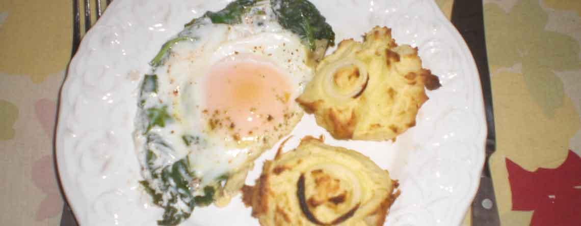 Æg florentine til to