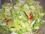 Bland en salat.