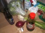 Find ingredienserne frem.