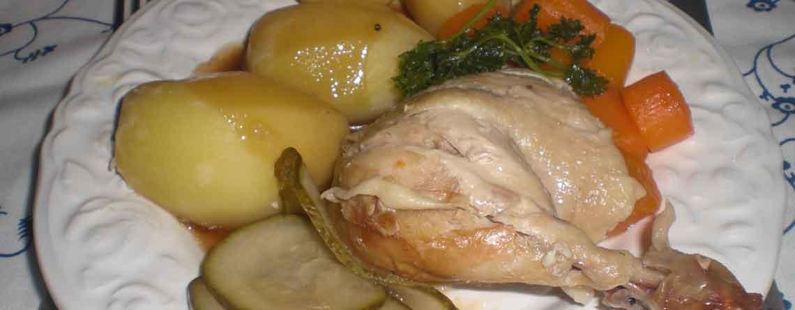 Stegt kylling