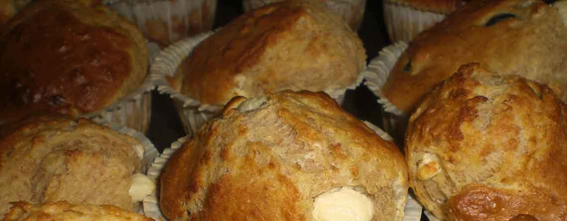 Muffins med oliven