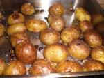 Steg kartoflerne færdig.