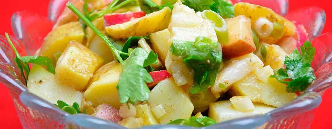 Kartoffelsalat med kanel