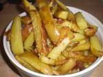 "Servér med ""chips""."