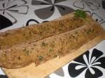 Pensl brødet med olie, og drys med koriander.