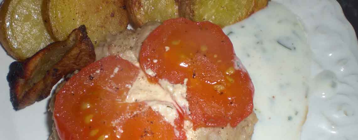 Karbonader med krydderost