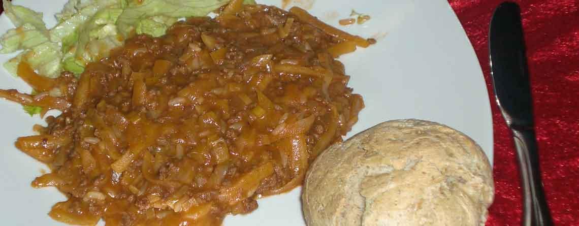 Kartoffelkødsovs