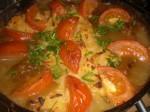Dagen efter: Pynt evt. med tomater og purløg.