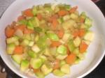 Tag grøntsagerne op.