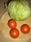 Gør klar til salaten.