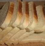 Tæl brødet op.
