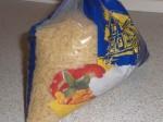 Kog risene efter anvisningen på posen.