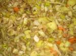 Bland stegte og kogte grøntsager.