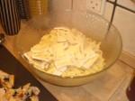 Bland pastaen med ost...
