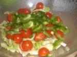 Tilsæt grøn peber.