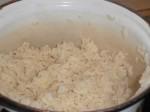 Servér med ris.