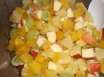 Bland frugter og cremefine.