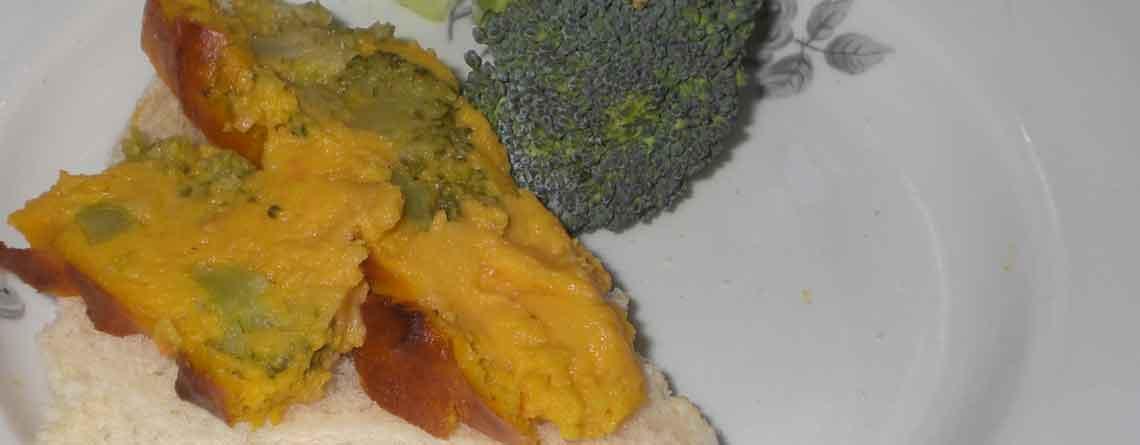 Gulerod-broccolipostej