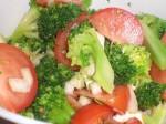 Servér med broccoliblandingen.