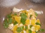 Bland appelsiner og bladselleri/persille