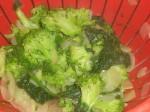 Lad grøntsagerne dryppe af.
