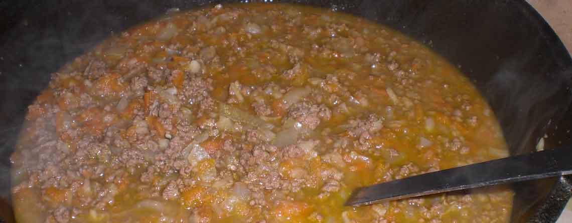Farsgryde med gulerødder og selleri