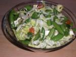 Bland salaten.