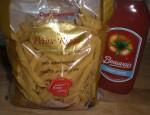 Kog pastaen efter anvisningen på posen.