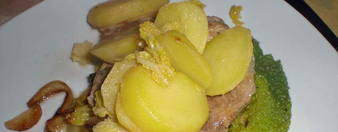 Koteletter med savojkål