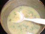 Varm suppen.