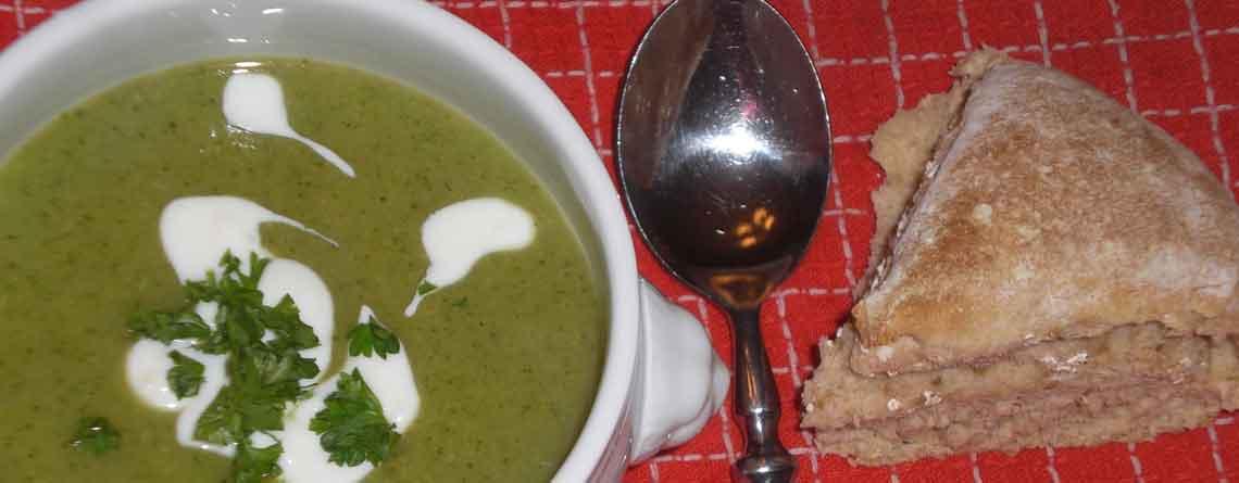 Broccolisuppe – sund