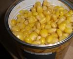 Tilsæt majs.
