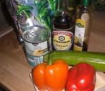 Tag ingredienserne frem.