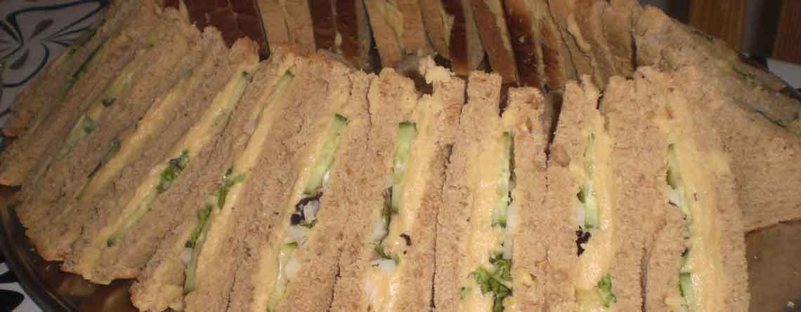 Sandwich med flækærtemos