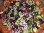 Fordel til sidst oliven.