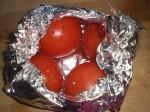 Prik tomaterne.