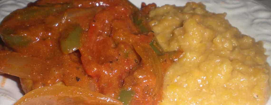 Koteletter i grøntsagssauce