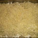 Drys med revet ost.