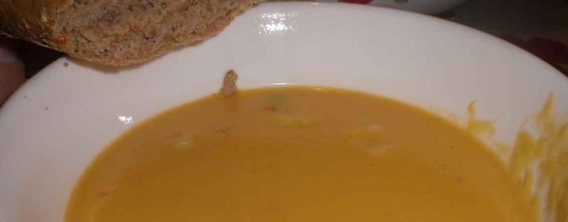 Suppe med søde kartofler