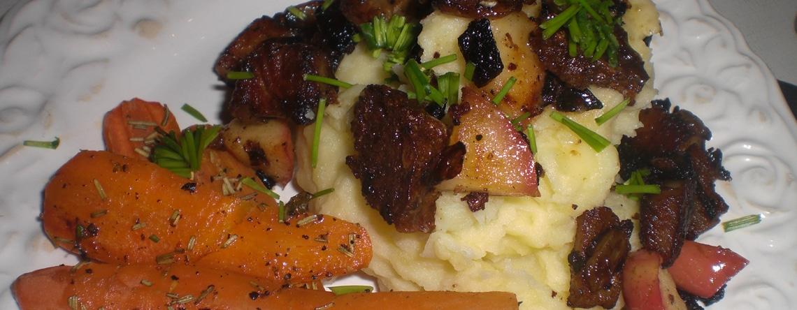 Brændende kærlighed og bagte gulerødder