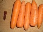 Vi snuppede lige en ekstra gulerod, da de ikke var så store.