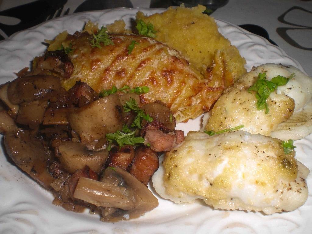 Græskar-kartoffelmos til isingruller