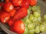 Skyl frugterne.