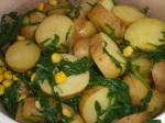 Lad kartoflerne dampe tørre.