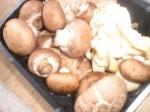 Klargør svampene.