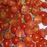 ... på tomaterne.