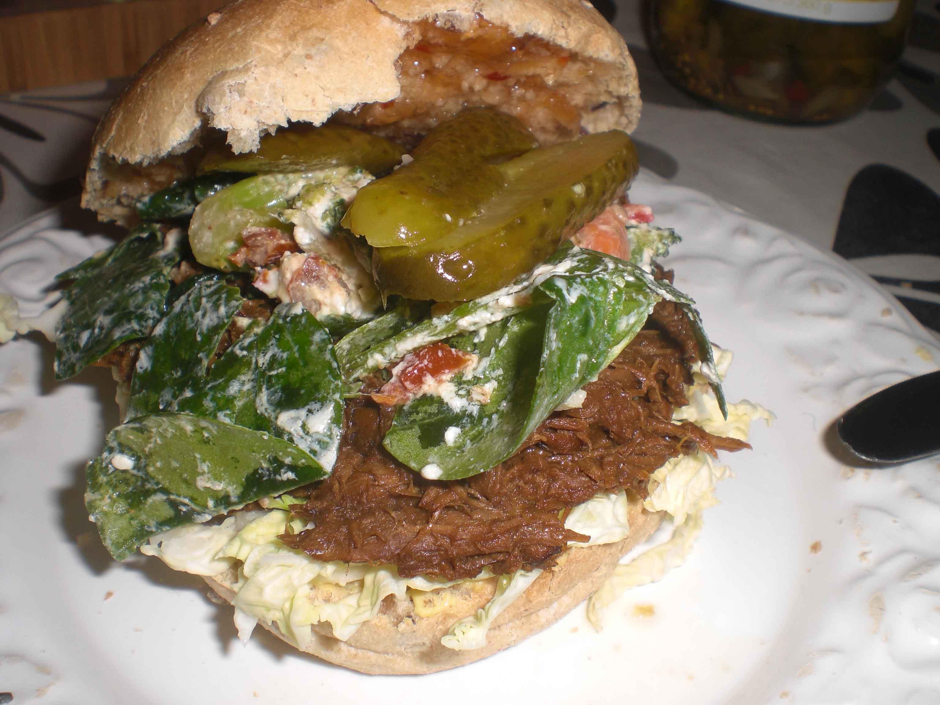 Dagen efter – en lækker burger af resterne