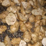 Drys med peber, timian og chiliflager.