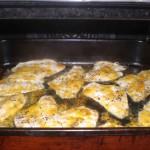 Sæt bradepanden i ovnen.